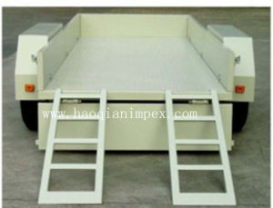 2 Ton Flat Floor Trailer With Ladder (Mt-2t)