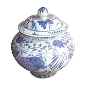 Antique Porcelain Fish Pot (LW174) pictures & photos