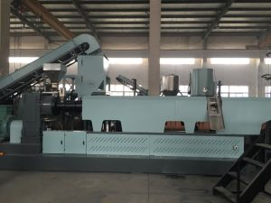 Power Saving Plastic Film Granulating Extruder and Recycling Machine pictures & photos