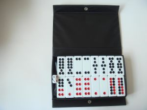 32PCS Dominoes in PU Box (SY-Q15) pictures & photos
