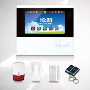"Internal Antenna LCD PSTN GSM Alarm System with 7"" Touch Screen (ES-S6) pictures & photos"