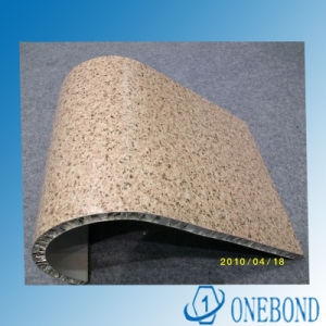 Onebond Stone Grain Series Aluminum Honeycomb Panel pictures & photos
