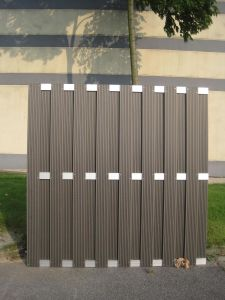 Wood plastic composite decking floor  for Protection Purpose (SH-fence-1) pictures & photos