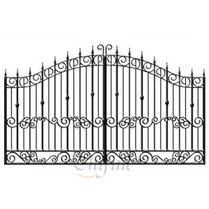 China Customized Factory Wrought Iron Gate pictures & photos