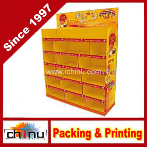 Cardboard Corrugated Pallet Rack Display (6124) pictures & photos