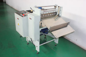 PVC Insulation Sponge Tape Cutting Machine pictures & photos