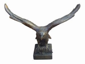 Bronze Eagle Sculpture (SL812) pictures & photos