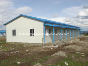 Color Steel Sandwich Prefabricated/Prefab/Modular House pictures & photos