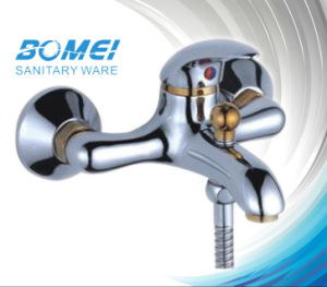 Golden Plated Bathroom Mixer Faucet (BM51501) pictures & photos