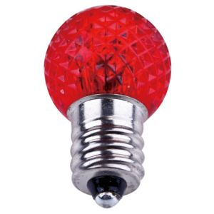 G20 Faceted LED Bulbs - Red