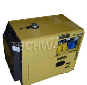 Twdg6500se 5kw Silent Diesel Generator pictures & photos