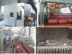 Sand Casting Molding Machine in Foundry pictures & photos