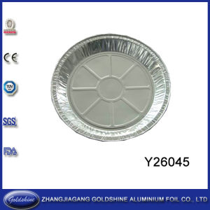 Aluminum Foil Round Tray (Y26045) pictures & photos