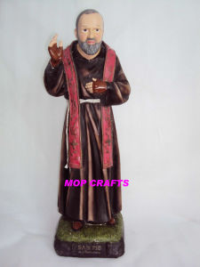 Polyresin Padre Pio Statue, Resin Padre Pio Crafts pictures & photos