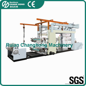 Roll Paper Flexographic Printing Machine (CH884 series) pictures & photos