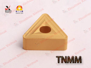 Cemented Carbide Inserts of Tnmm Cutting Tools Tnmm pictures & photos