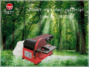 Belt/Disc Sander With Dust Collector (NKBDX69)