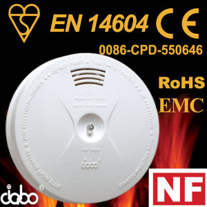 Smoke Detector En14604 for Safety (JB-S02)