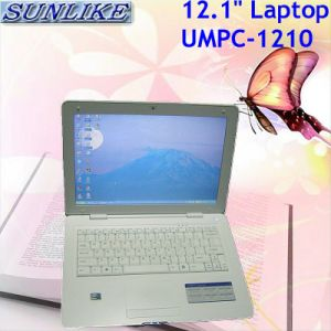 "12.1"" Intel Atom 270 1g/160g WiFi Bluetooth Camera Laptop Computer (UMPC-1210)"