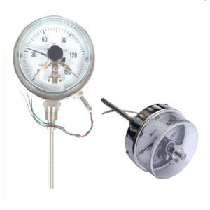 Bimetal Thermometer with Electric Contact (WSSX-401)