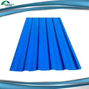 Colorful Zinc Coated Roof Cover Gi Corrugated Sheet pictures & photos