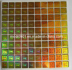 Custom Electronic Security Hologram Stickers and Label Wholesale pictures & photos