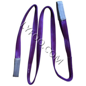 1000kg Webbing Polyester Lifting Sling (High Quality Low Price) pictures & photos