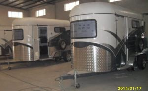 2 or 3 Straight or Angle Load Horse Trailer pictures & photos