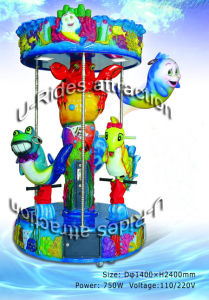 Ocean World Carousel Kiddy Ride pictures & photos