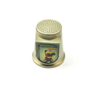 Customized Epoxy Sticker Metal Thimble for Souvenir pictures & photos