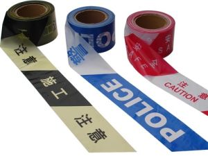 SGS Approved PE Caution Tape Using for Construction and Police Lines pictures & photos