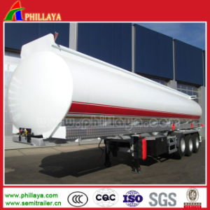 Semi Trailer Fuel Tanker for Oil Tank Transport pictures & photos