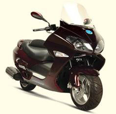 125/150cc EEC / EPA Scooter (XY-125TB)