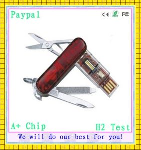 Full Capacity Knife Shape 2GB USB Flash Drive (GC-K219) pictures & photos