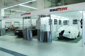 Large Air Capacity Automotive Paint Preparation Bay pictures & photos