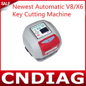 Best Sale 2014 Newest Professional Automatic V8/X6 Key Cutting Machine in Stock