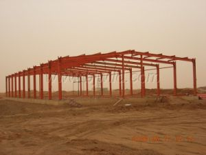 Steel Structure of Prefab Warehouse