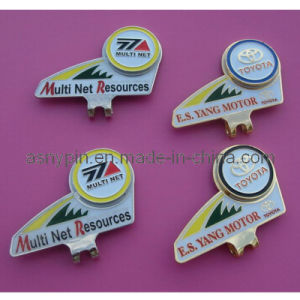 Stamping Metal Golf Cap Clip (AS-GF-KQ-002) pictures & photos