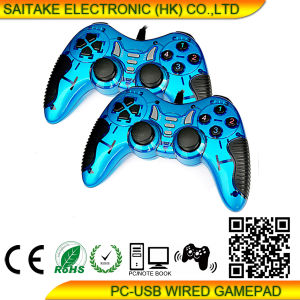 PC Double Vibration Gamepad Stk-8072 pictures & photos