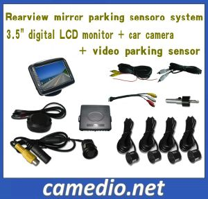 "3.5inch Reversing Kit Reverse Camera Parking System (3.5"" LCD+camera+video parking sensor) pictures & photos"