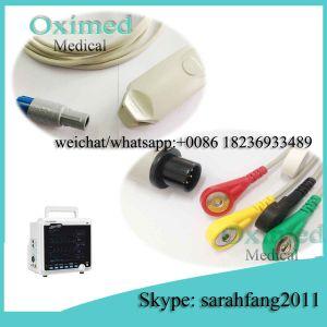 Plusmed Plus6000 SpO2 Sensor Cable, Plusmed Plus-6000 ECG Cable