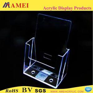 Clear Acrylic Brochure/Leaflet Holders (AAL-05)