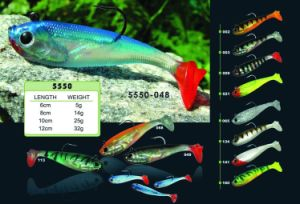 Color Tail Soft Fishing Bait