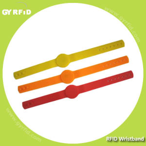ISO14443A RFID Silicon Bracelets with Adjustable Bands (GYRFID) pictures & photos