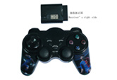 3 in 1 Wireless Double Shock Gamepad for PS3/PS2/PC (010)
