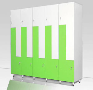 High-End Metal Wardrobe with 3 Doors pictures & photos