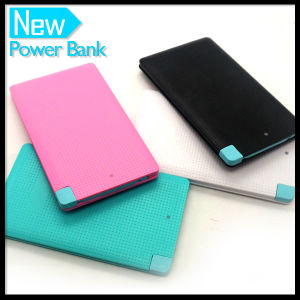 Portable Rechargeable External Travel 4000mAh Thin Mobile Cell Phone Charger Battery pictures & photos