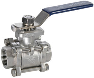 Ball Valve, 3PC Ball Valve, PC Ball Valve, 3 Ball Valve pictures & photos