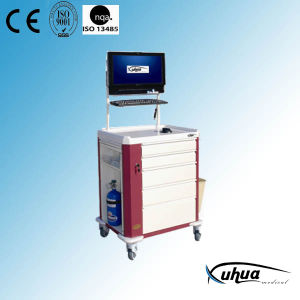 Mobile Terminal Nursing Trolley (P-13) pictures & photos