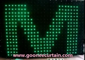 RGB LED Display Curtain Cloth\LED Stage Backdrop Decoration (GN-306)
